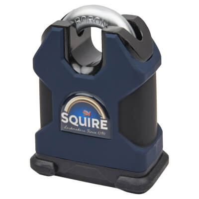 Squire Maximum Security Closed Shackle Padlock - 65mm - Keyed to Differ)