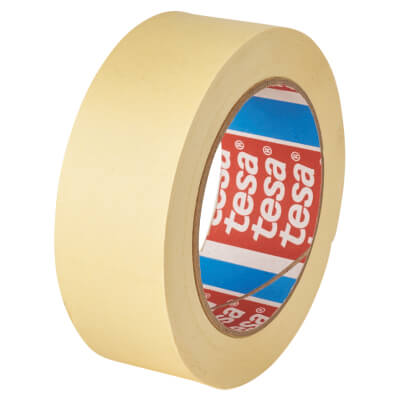 Tesa 4323 General Purpose Paper Masking Tape - 25mm x 50m)