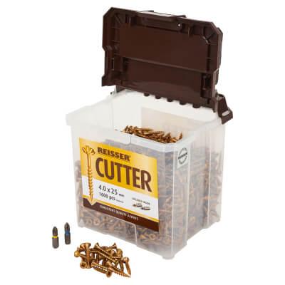 Reisser Cutter Tub - 4.0 x 25mm - Pack 1600)