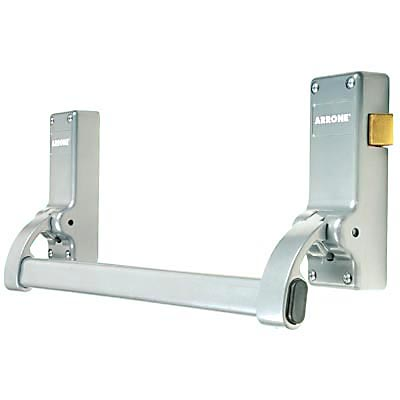 Arrone® AR882 Single Door Panic Latch - Silver