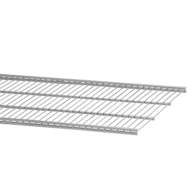 elfa® Ventilated Shelf - 1212 x 405mm - Platinum)