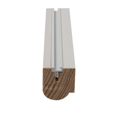 Timber Staff Bead - 25 x 15mm - Pack 10 x 3000mm - Primed White)