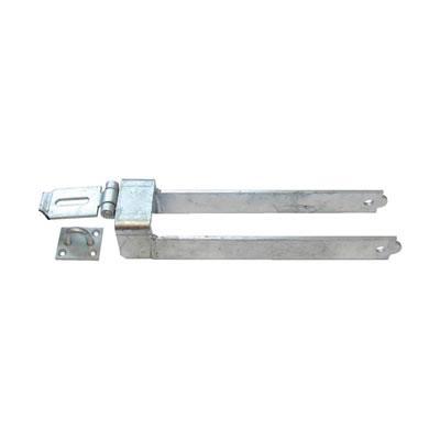 Throw-Over Locking Gate Loop - 450mm - Galvanised