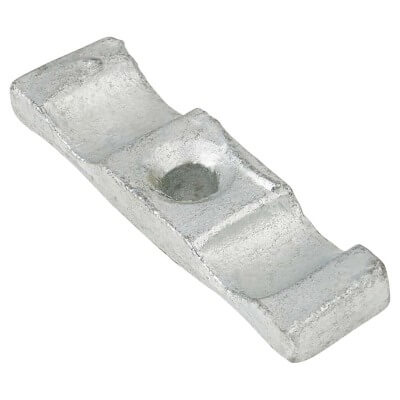 Cabinet Turn Button Catch - 50mm - Galvanised - Pack 5)