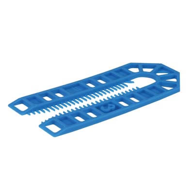 Horseshoe Packer - 101 x 43 x 3mm - Blue - Pack 200)