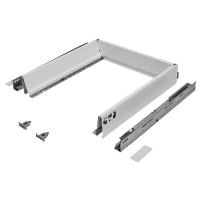 Blum TANDEMBOX ANTARO Drawer Pack - BLUMOTION Soft Close - (H) 84mm x (D) 450mm x (W) 450mm - White