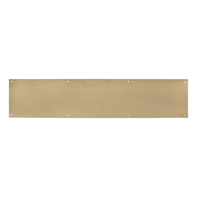 Made to Measure Kickplate 1.5mm - Polished Brass