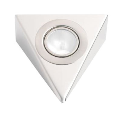 Leyton Halogen Triangle Under Cabinet Light With Transformer - 160 x 160mm - 3 x 20W)