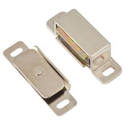 Veel-2 Magnetic Catch - 6kg Pull - 46mm - Nickel