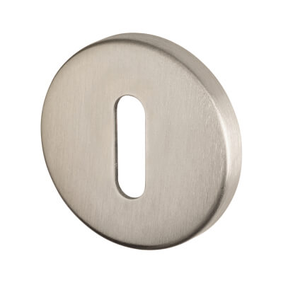 Project Escutcheon - Keyhole - Satin Stainless Steel