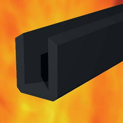 30 Minute Intumescent Glazing Seal For Fire Doors