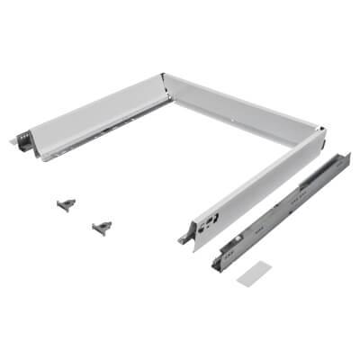 Blum TANDEMBOX ANTARO Drawer Pack - BLUMOTION Soft Close - (H) 84mm x (D) 500mm x (W) 600mm - White