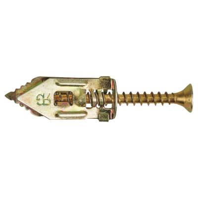 Rawlplug Golden Arrow Plasterboard Fixing with Screws - Pack 100)