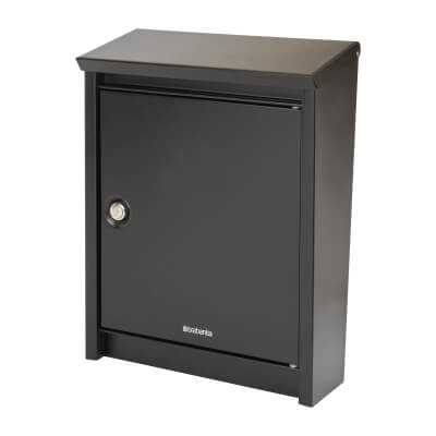 DAD B110 Mailbox - 408 x 308 x 150mm - Black)