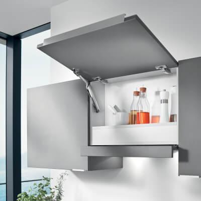 Blum AVENTOS HK-XS - Cabinet Door Lift Mechanism - Light/Small - Power Factor (LF) 200 - 1000