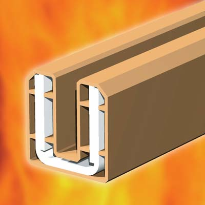 System 90 Plus Intumescent Glazing Seal For Glazed Screens and Fire Doors - White)