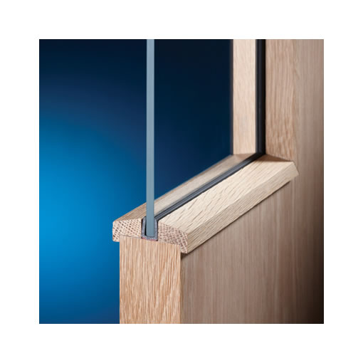 System 36/7+ Glazing Seal - 7mm Glass - 60m Coil)