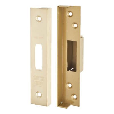 UNION® 13mm Rebate Kit to suit Strongbolt BS3621:2007 5 Lever Deadlock - Brass