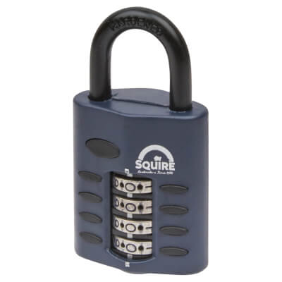 Squire Combi All Weather Padlock - 40mm)