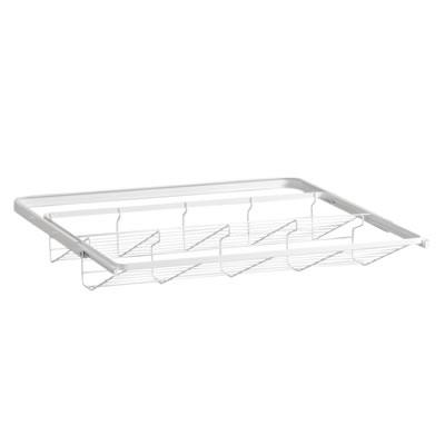 elfa® Gliding Shoe Shelf - 605mm - White)