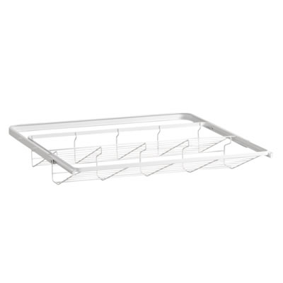 elfa® Gliding Shoe Shelf - 605mm - White