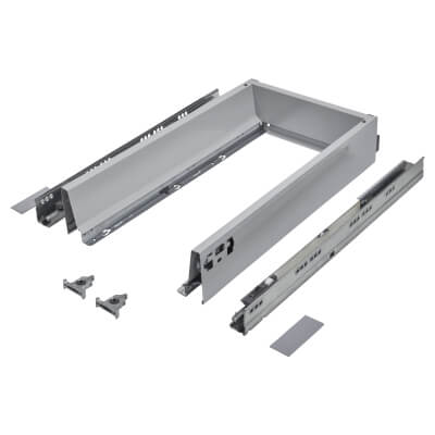 Blum TANDEMBOX ANTARO Drawer Pack - BLUMOTION Soft Close - (H) 84mm x (D) 450mm x (W) 300mm - Grey
