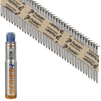 Paslode IM90I Nail - First Fix - 63 x 2.8mm - Stainless Steel - Pack 1250)