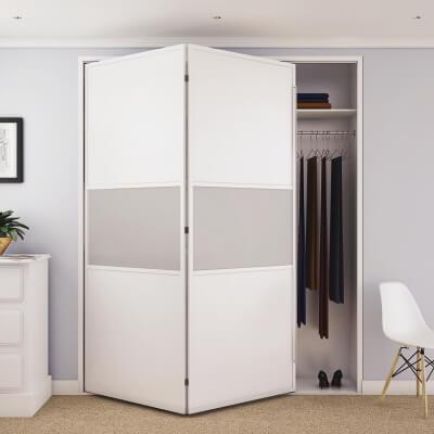 KLÜG Bifold 14 Sliding Door Fitting Pack - 2 Doors 1 Way)
