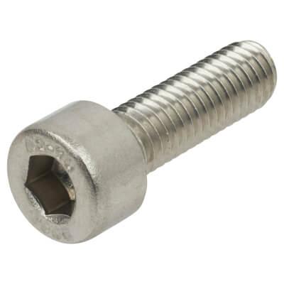 TIMco Cap Head Socket Screws - M6 x 16mm - A2 Stainless Steel - Pack 10