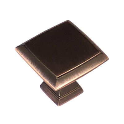 Crofts & Assinder Wellington Mazak Cabinet Knob - 32mm - Brushed Copper