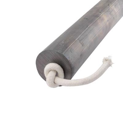 Lead Round Sash Weight - 2.8kg - 25 x 600mm