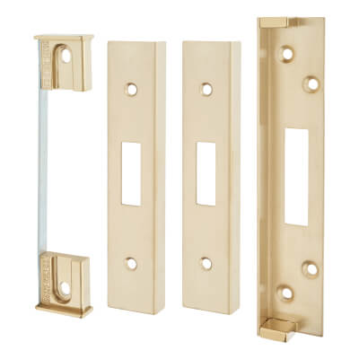 A-Spec Architectural Rebate Kit for Deadlock - PVD Brass
