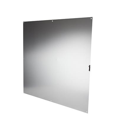 Half door panel kick plate - 760 x 760mm - Satin Anodised Aluminium