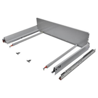 Blum TANDEMBOX ANTARO Pan Drawer - BLUMOTION Soft Close - (H) 203mm x (D) 550mm x (W) 1000mm - Grey
