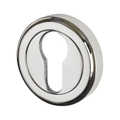 M Marcus Escutcheon - Euro - Polished Chrome