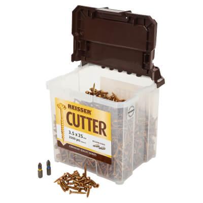 Reisser Cutter Tub - 3.5 x 25mm - Pack 2000