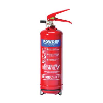 Dry Powder Fire Extinguisher - 2kg)