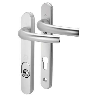 Hoppe PAS 24 - uPVC/Timber - Multipoint Door Lock Security Handle - 92mm centres - 70mm Door Thickn