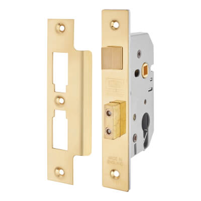 UNION® 2249 Euro Sashlock - 65mm Case - 44.5mm Backset - Brass