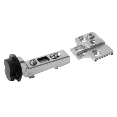 Motion Clip-On Glass Door Cabinet Hinge - 95° - Inset - Pair