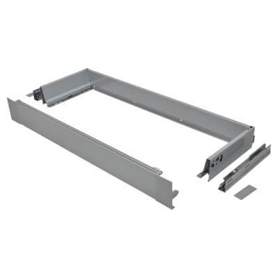 Blum TANDEMBOX ANTARO Internal Drawer - BLUMOTION - (H) 84mm x (D) 270mm x (W) 800mm - Grey