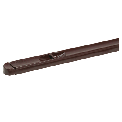 Trimvent XR16 - uPVC/Timber - Window Vent - Recessed - 352 x 16mm - Brown)