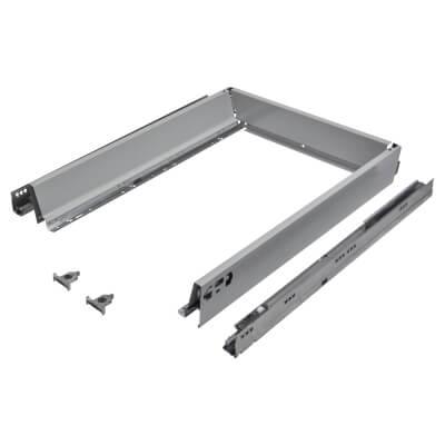 Blum TANDEMBOX ANTARO Drawer Pack - BLUMOTION Soft Close - (H) 84mm x (D) 550mm x (W) 450mm - Grey