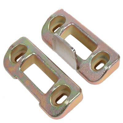 Briton 376MDS-ZP Push Pad And Panic Bar Metal Door Top/Bottom Strip
