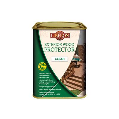 Liberon Exterior Wood Protector - Clear - 1000ml)