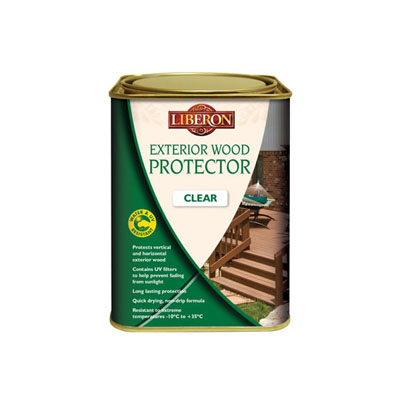 Liberon Exterior Wood Protector - Clear - 1000ml)