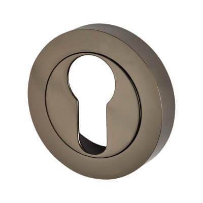 Touchpoint Escutcheon - Euro - Black Nickel