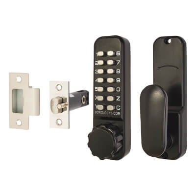 Borg BL2601 External Marine Grade Code Operated Latch