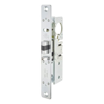 Adams Rite 4720 Screw Cylinder Deadlatch - 38.1mm Backset - Suitable for Timber)