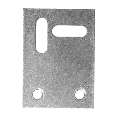 Flat Connecting Plate - 53 x 38mm - Zinc Plated Steel - Pack 10